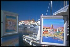 102091 St Tropez An Artists View A4 Photo Print