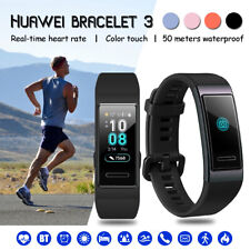 Huawei Band 3 Pro Smartband 2.4 GHz BT 5ATM Waterproof Blood Pressure Heart Rate