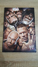 Official Souvenir WWE programme vendredi 15th novembre 2013-THE 02 + Billet Imprimé