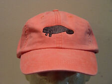 Manatee Wildlife Hat Women Men Embroidered Baseball Cap Price Embroidery Apparel