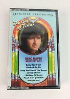 MAC DAVIS: Greatest Hits Cassette Tape Original Recording The Best of Times