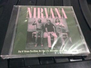 NIRVANA PAT O'BRIAN PAVILION, DEL MAR DECEMBER 28TH 1991 CD ALBUM NEW/SEALED. H1
