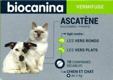 Ascatène vermifuge chien et chat (boîte de 10 comprimés)