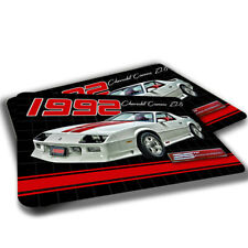 1992 Chevrolet Camaro Z28 25th Anniversary Design Indoor Door Mat Rug TWO RUGS