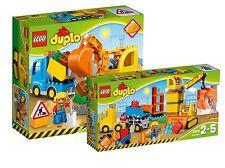 LEGO® DUPLO® Doppelpack 10812+10813 Bagger & Lastwagen+Große Baustelle NEU OVP