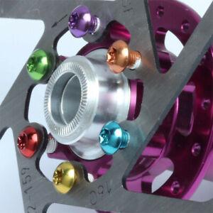 12x MTB Bicycle Brake Disc Screws Ultralight Steel Bolt Rotor Cycling Disc Screw