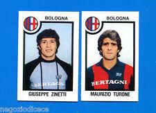 CALCIATORI PANINI 1982-83 - Figurina-Sticker n. 383 - ZINETT#TURON- BOLOGNA -Rec