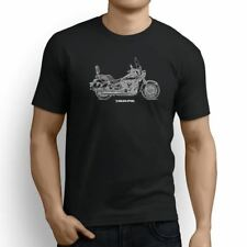 Kawasaki Vulcan 900 Classic LT 2017 Inspired Motorcycle Art Men's T-Shirt