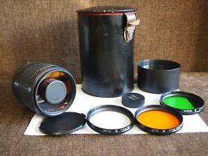 MC Rubinar 300 mm MACRO f/4.5 M42 Russian Mirror Lens 4.5/300 Telephoto lens
