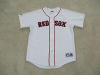 Daisuke Matsuzaka Boston Red Sox Baseball Jersey Adult Large White SEWN Mens *