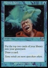 MTG 4x MENTAL NOTE - Judgment *Draw Card DEUTSCH*