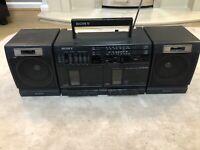 Sony CFS-W350L Vintage Boombox Ghettoblaster RARE WORKING