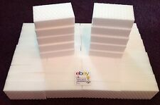 "100 PACK Magic Sponge Eraser Heavy Duty Extra Power Pro Melamine Foam 1"" Thick"