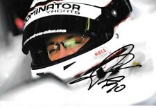 Andreas Zuber SIGNED GP2 Scuderia Coloni Portrait  2009
