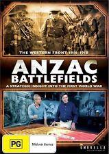 ANZAC Battlefields (DVD) First World War Documentary [All Regions] NEW/SEALED