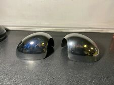 GENUINE USED MINI ONE COOPER S JCW R55 R56 R57 CHROME STICK ON MIRROR COVERS