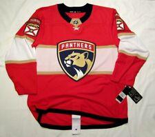 FLORIDA PANTHERS size 52 = sz Large ADIDAS NHL HOCKEY JERSEY Climalite Authentic