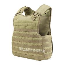 MOLLE Quick Release Plate Carrier Armor Vest TAN (CONDOR QPC) no armor