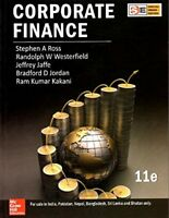 Corporate Finance 11th Int'l Softcover Edition by Stephen A Ross Westerfield