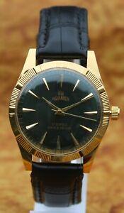 Luxury Vintage Roamer FHF ST96 17Jewels Hand Winding Swiss Made Men's Wristwatch