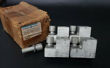 Lot Of 4 General Electric Tcal41 Lugs With Mounting Screws