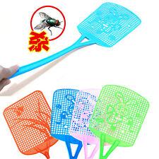 Volare Insetto Zanzara IE mosche in plastica Handy Insetto Killer Racchetta lunga maniglia SWAT