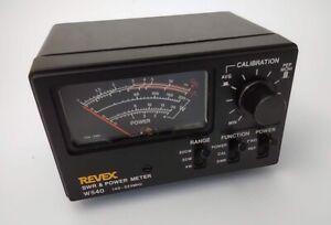 Revex W540 In-line SWR & Power Meter, 140-525MHz