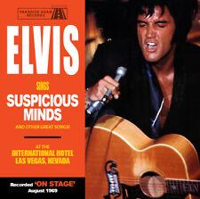 Elvis Collectors CD - Elvis Sings Suspicious Minds