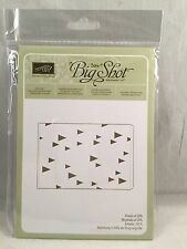 ON POINT Embossing Folder Stampin Up New Tree Triangle Arrow Big Shot