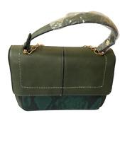 Ladies Handbag Moda Italy Green
