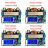 35W DC 5.5-30V to 0.5-30V  LCD Digital Display  Buck-Boost Voltmeter Ammeter