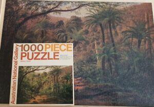 Australian National Gallery Eugene von Guérard 1000pce Jigsaw Puzzle Complete