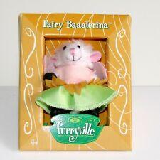 """Mattel  Furryville ~ Fairy Baaalerina    New in Box 2005  2"""" Sheep Toy Animal"""