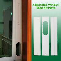 3pcs Adjustable Window Slide Plate Kit Per Condizionatore portatile Wind Shield