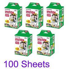 Fujifilm Instax Mini Instant Film 100 Sheets White for SP1 Mini 8 7S 25 90 Fuji