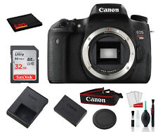 Canon EOS Rebel T6s Digital SLR Camera (Black, Body Only) with Accessory Bundle