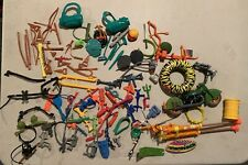Large Vintage TMNT Weapons and Accessories Lot Plus Extras