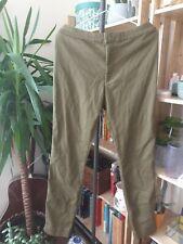 H&M strtchy Oliva Pantalones Treggings Talla 18 usado una vez