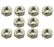 10 Pack M10 x 1.5 Hex Nuts | BZP Steel