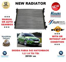 FOR SKODA FABIA 542 HATCHBACK 1.2 1.6 TSi TDi 2010> NEW RADIATOR OE QUALITY