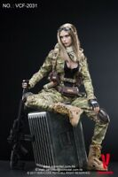1/6 Very Cool Toys VCF-2031 MC Camouflage Women Soldier Villa Action Figure