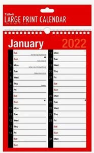 2022 A4 One Month To View Calendar-Monthly Planner-appointments Reminders Etc