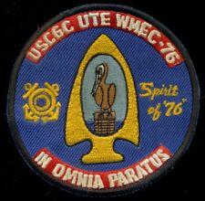 USCG Coast Guard USCGC UTE WMEC-76 In Omnia Paratus 1976 Patch N-5