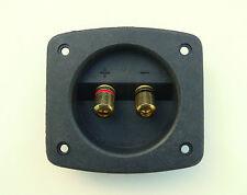 Borne d'enceinte câble 4mm connecteur pour haut-parleur cabinet 62mm découpe