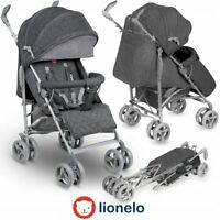 BABY STROLLER KIDS BUGGY PUSHCHAIR LIONELO IRMA GREY