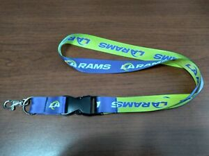 LOS ANGELES RAMS LANYARD w/ DETACHABLE BUCKLE TWO-SIDED