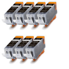 7 BLACK Replacement Ink for Canon BCI-3e i550 i560 i850 i860 iP3000 iP4000 MP750