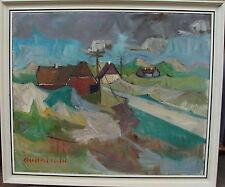 Arnold William Pedersen 1912-1986, Höfe bei den Dünen, um 1950