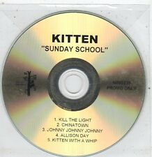 (ET879) Kitten, Sunday School - DJ CD