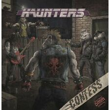 CONFESS - Haunters (NEW*LIM.400 BLACK V.*HARD ROCK*CRASHDIET*HARDCORE SUPERSTAR)